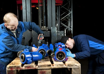 Valve and Flowline repair and re-certification