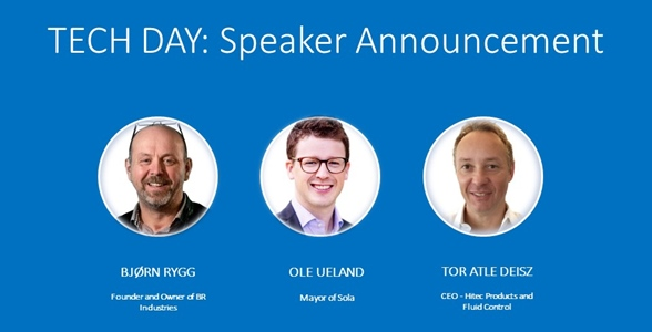 Sneak Peak: Announcing our Speakers for TECH DAY 2017