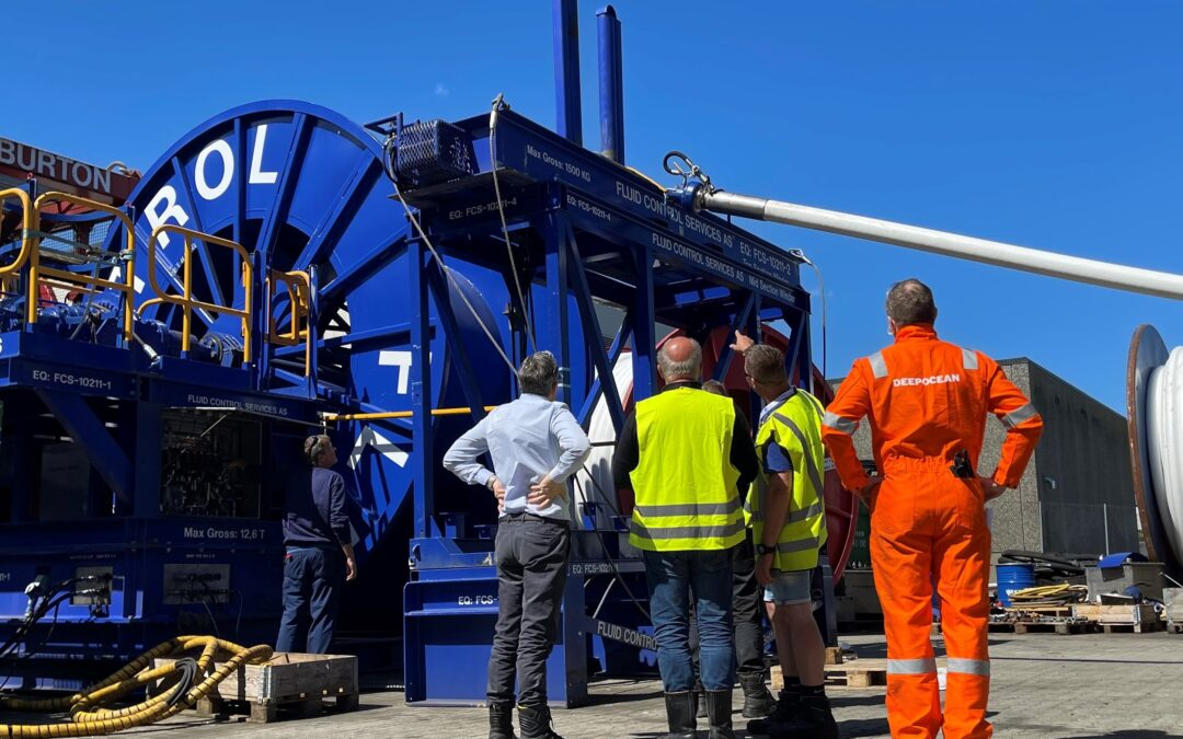 FCS delivers Hose Transfer System for TP3 Well Clean-up operation